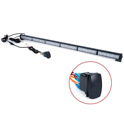 "USA ONLY RZ Series 30"" Offroad Rear Chase LED Strobe Light bar with Brake Reverse - RBYBR"