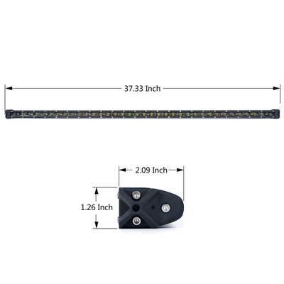 "USA ONLY 38"" 180W Astro Series Flood Beam CREE LED Light Bar"