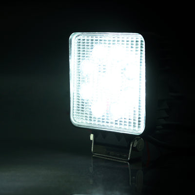 "USA ONLY 60 Degree Flood Beam 4"" 27W 4x4 Cube LED Offroad Light"