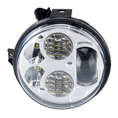 Pair 12-16 Kawasaki Brute Force 750 LED Headlights Conversion Kit - LED Factory Mart - 5