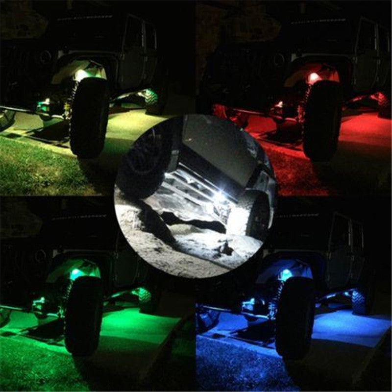 9W CREE LED Rock Light For Jeep, ATV, 4x4, Offroad Trucks