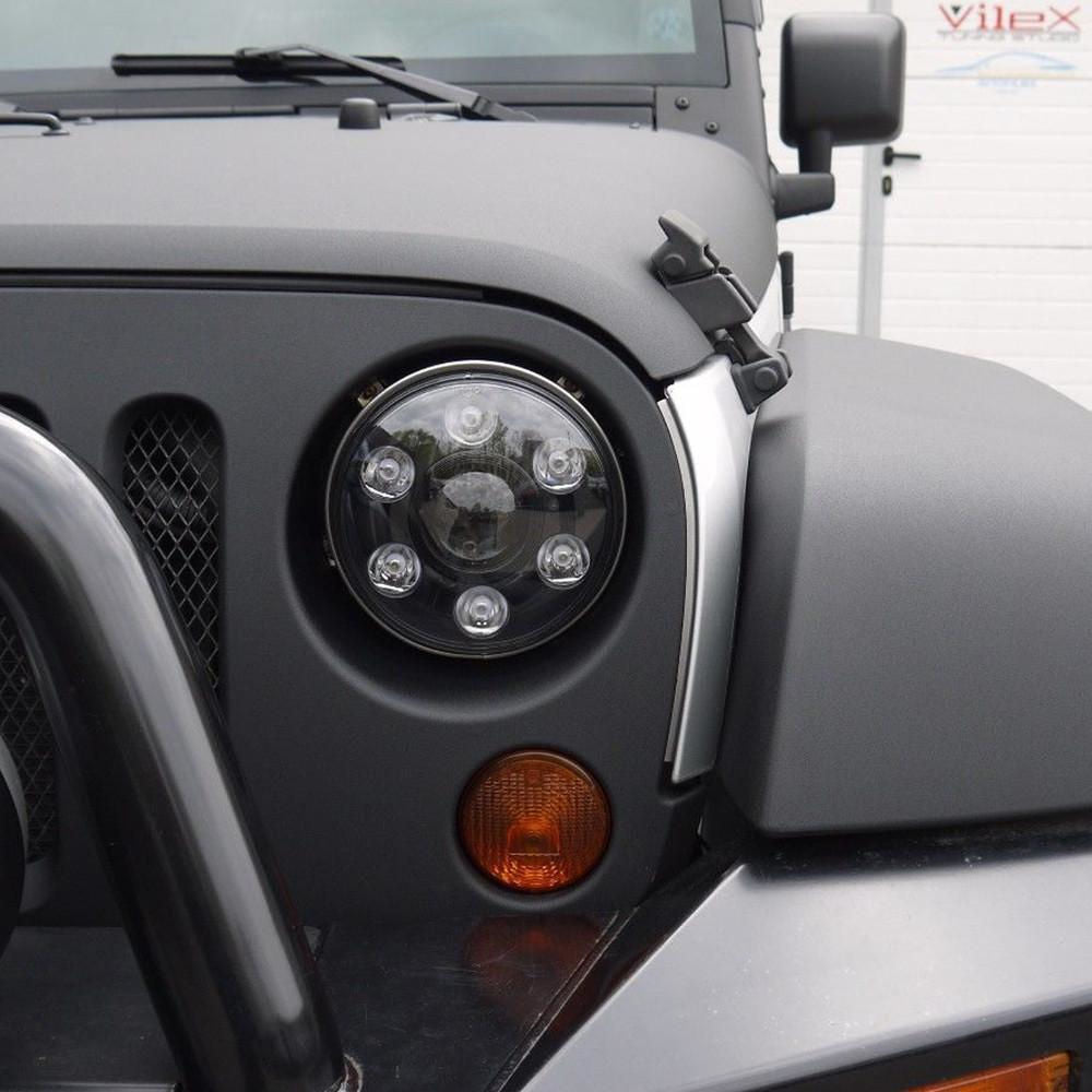 7 inch 60W Ultimate Daymaker Headlights For Jeeps Trucks