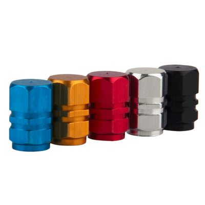 4pcs Universal Portable Aluminium Alloy Car Tire Valve Cap