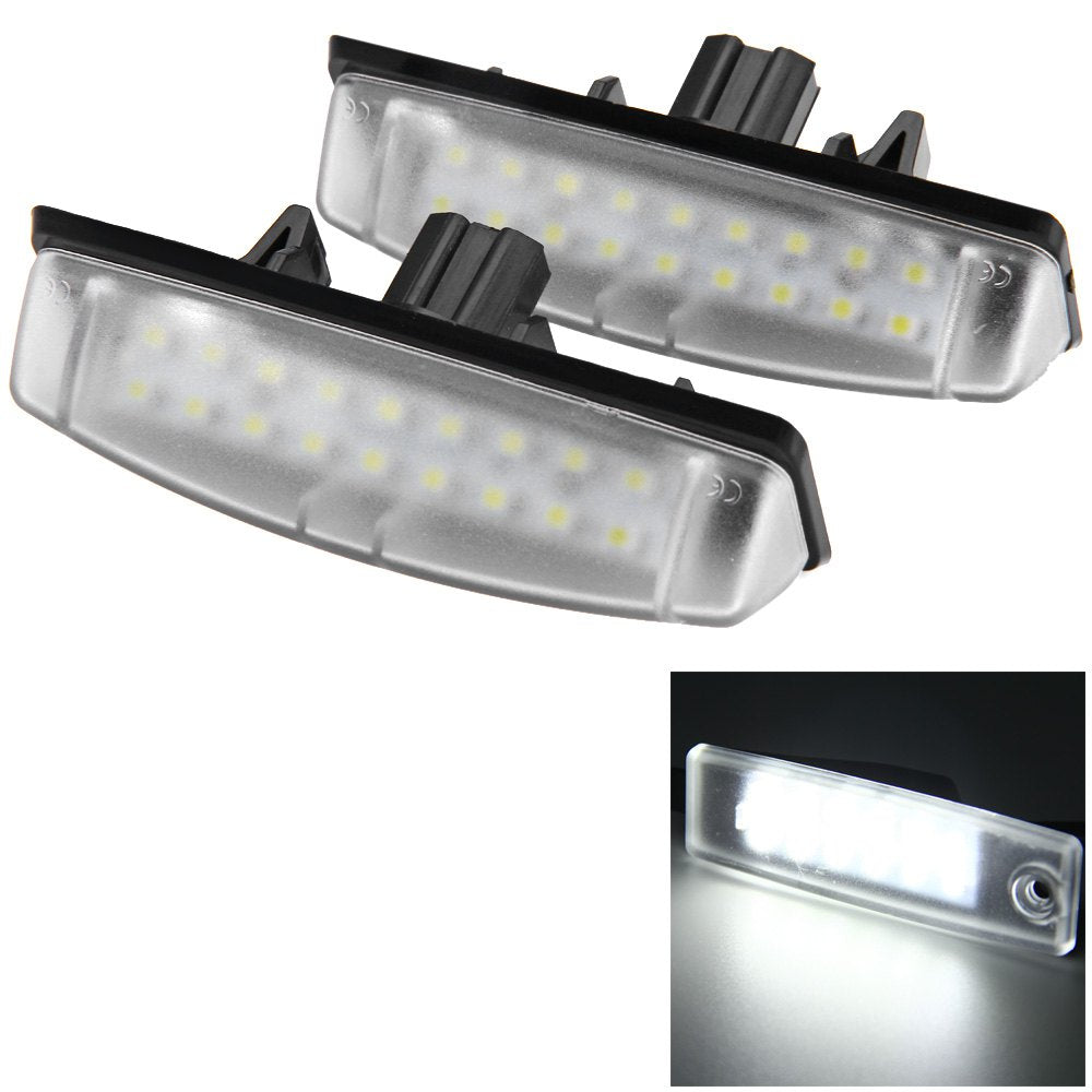 12V Number License Plate Light / Bulb with 24 LEDs White Light for Toyota Camry Echo Lexus