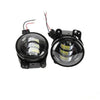 "7"" 80W Headlight Halo DRL with 4"" 30W Fog Light"