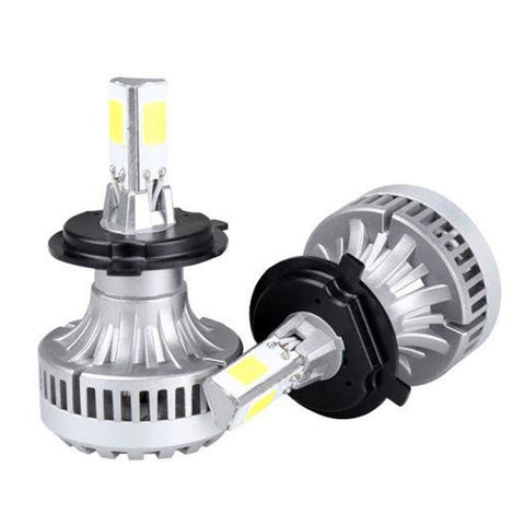 USA ONLY Clearance H4 9005 40W COB LED Headlights - All-in-one Kit