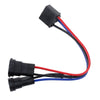H4 to H9/H11 Wire Harness Adapter for Dual Beam Headlights