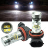 2x 6000k H11 H8 Fog Light SAMSUNG 2323 LEDs 100W Driving Bulbs