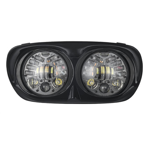Dual LED Daymaker Headlight with DRL Turn Signal