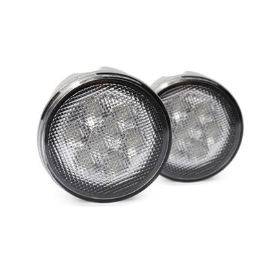 Amber LED Front Turn Signal Lights for Jeep Wrangler
