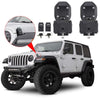 2018+ Jeep Wrangler JL Hood Lock Kit Anti-Theft