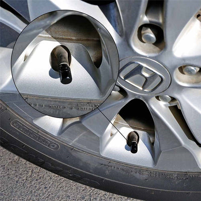 4pcs Universal Portable Aluminium Alloy Car Tire Valve Cap - LED Factory Mart