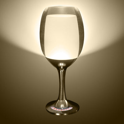 7 Models 3W LED Cup Light Rechargeable RGB Magic Crystal Wine Glass Lamp - LED Factory Mart - 7