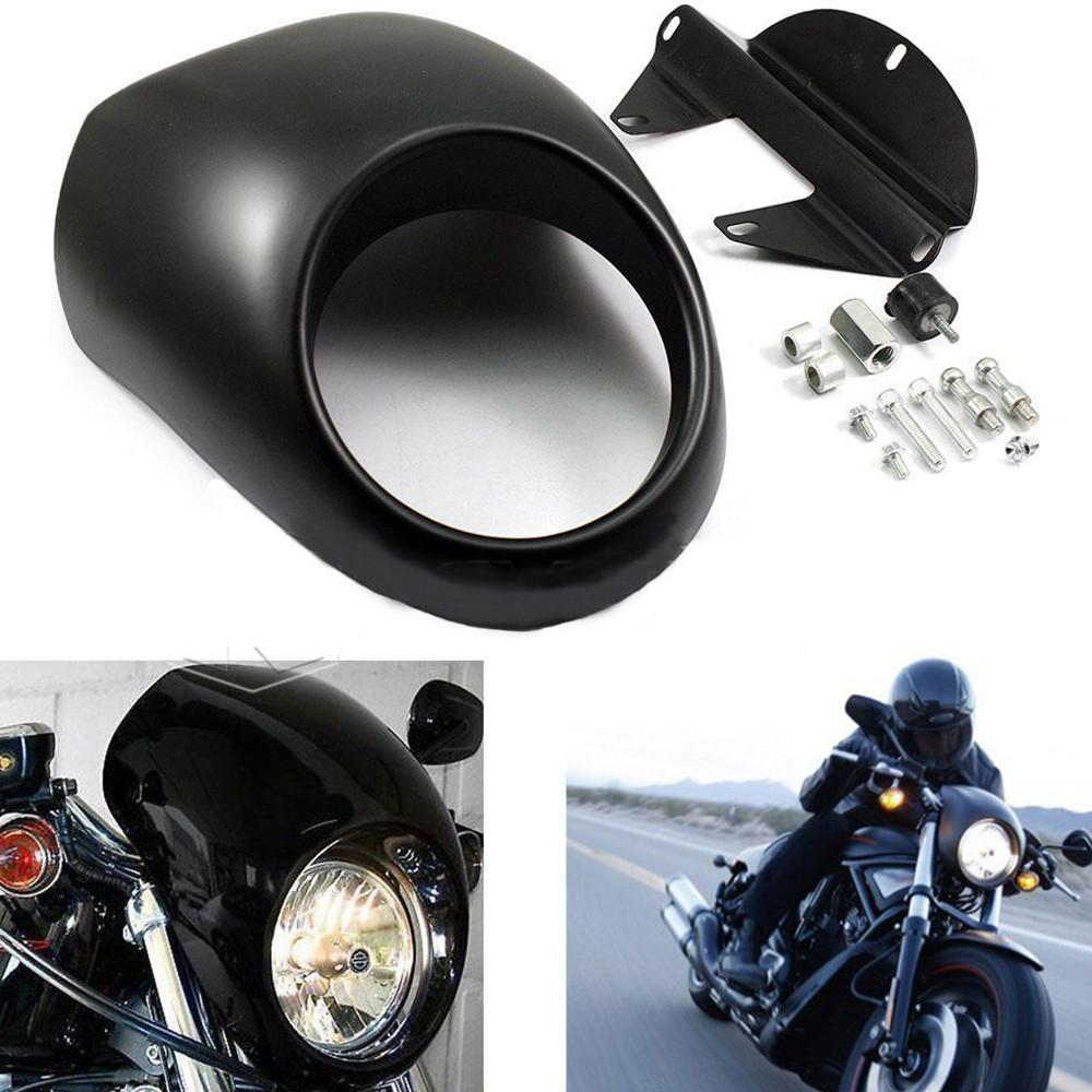 Headlight Front Cover For Harley Sportster Cafe Racer XL, XL883 XL1200