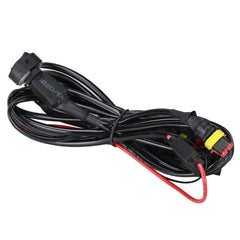 40A 12V Universal Wiring Harness Switch On/Off for Motorcycle Auxiliary Fog Light Wires