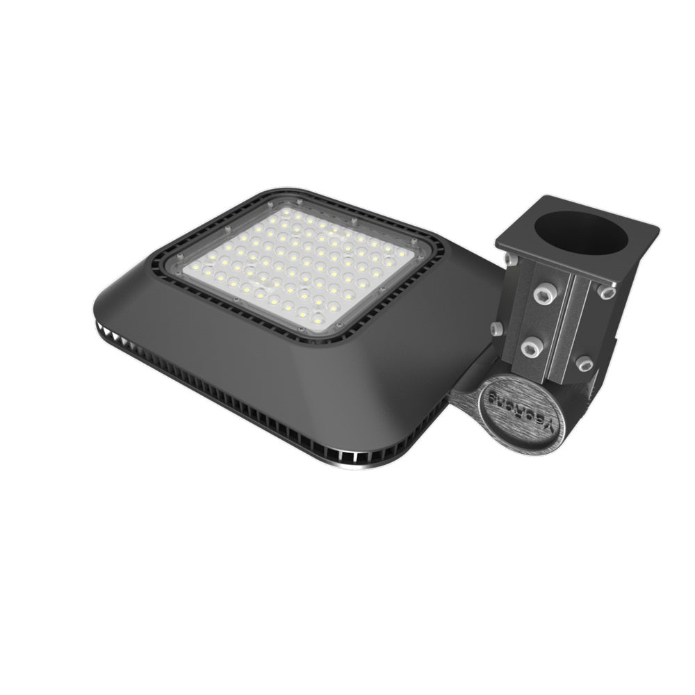100W LED Parking Lot Light Post Top Style