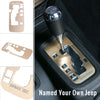 Aluminum Gear Trim Cover For Jeep Wrangler '11-'16 - Customizable with your name! - LED Factory Mart