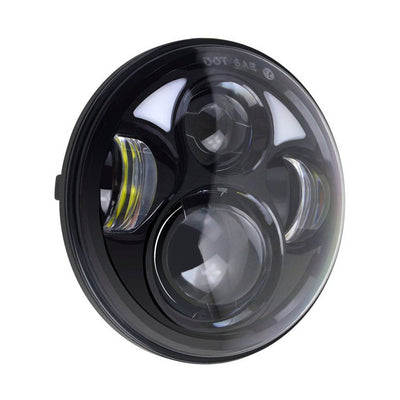 "Bright 5.75"" Day maker LED Headlight with 4.5 Inch Fog Light"