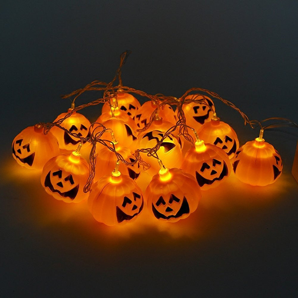 Mini Pumpkin LED String Lights For Halloween Decoration Party - LED Factory Mart - 2