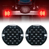 3-1/4'' Red Emark DOT LED Turn Signal Indicators For Motorcycle