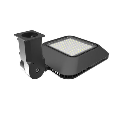 100W LED Parking Lot Light Post Top Style - LED Factory Mart