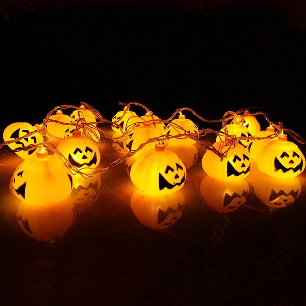 Mini Pumpkin LED String Lights For Halloween Decoration Party - LED Factory Mart - 3