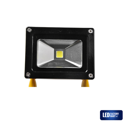 20W Wireless Rechargeable LED Outdoor Flood Light - Yellow - LED Factory Mart - 5