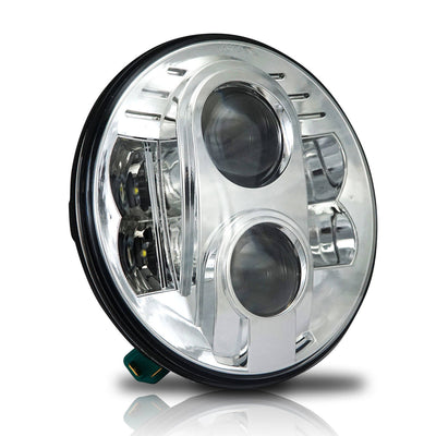 7-inch 80W LED Headlight with Mounting Bracket