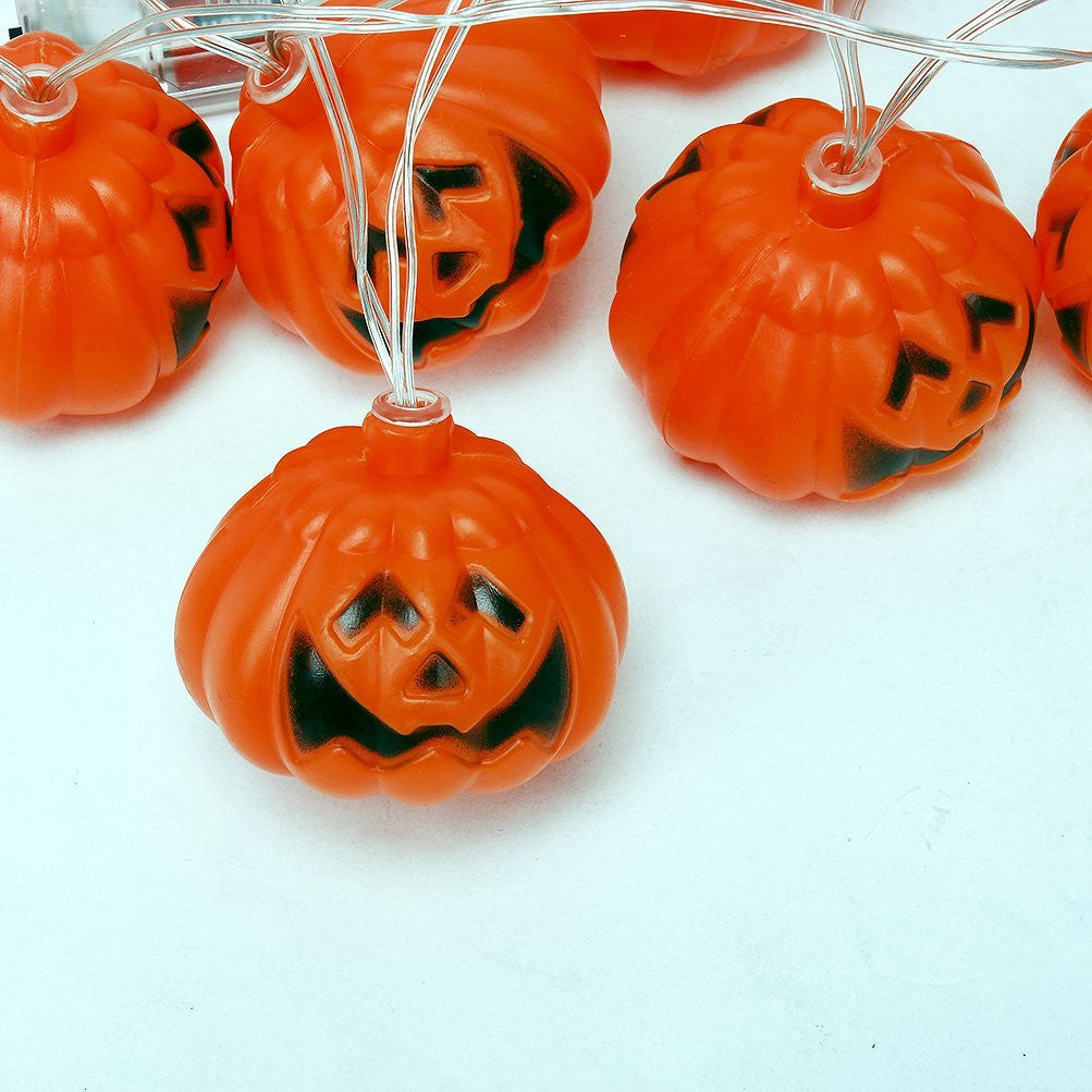 Mini Pumpkin LED String Lights For Halloween Decoration Party - LED Factory Mart - 4