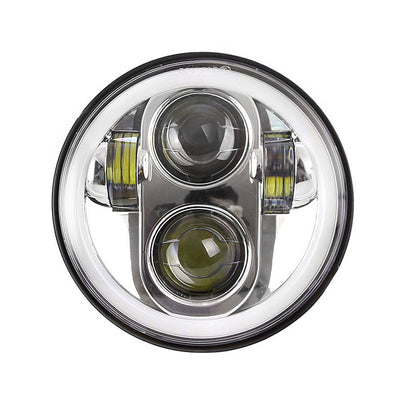 "5.75"" 40W LED Headlight with DRL For Motorcycle"