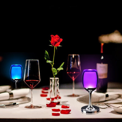 7 Models 3W LED Cup Light Rechargeable RGB Magic Crystal Wine Glass Lamp - LED Factory Mart - 13