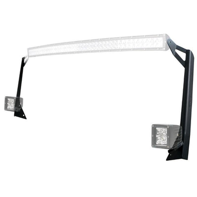 50 Inch LED Light Bar Upper And Lower Mounting Brackets