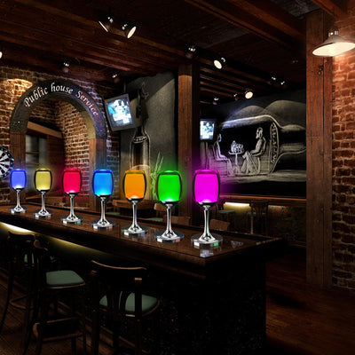 7 Models 3W LED Cup Light Rechargeable RGB Magic Crystal Wine Glass Lamp - LED Factory Mart - 14