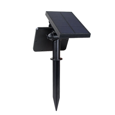 2pcs Solar Powered Wall Mount LED Light Outdoor Garden Path Landscape Fence Yard Lamp - LED Factory Mart