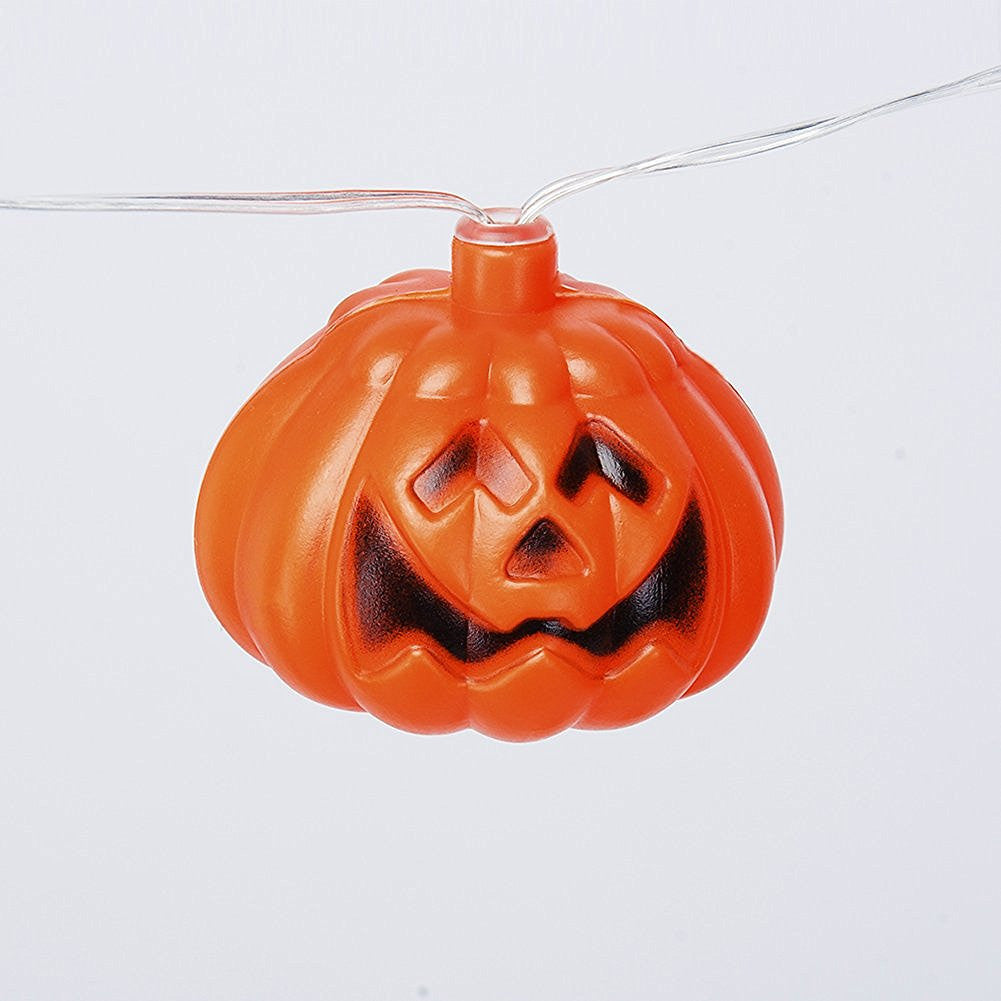 Mini Pumpkin LED String Lights For Halloween Decoration Party - LED Factory Mart - 5