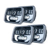 5x7 Jeep YJ LED Headlights