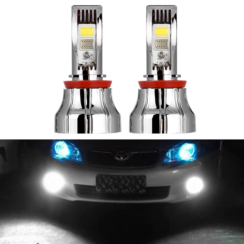 15W H8 6000K Super Bright LED Fog/Driving Light Bulb