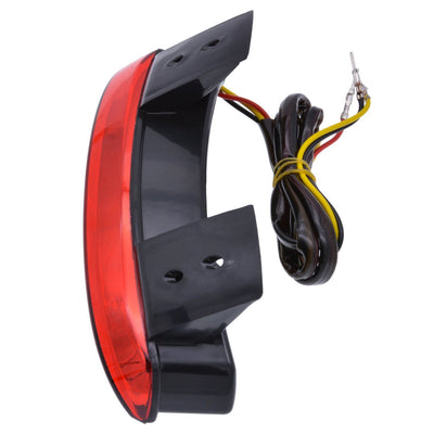 Red Chopped Fender Edge LED Tail Light