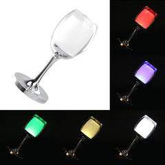7 Models 3W LED Cup Light Rechargeable RGB Magic Crystal Wine Glass Lamp - LED Factory Mart - 2