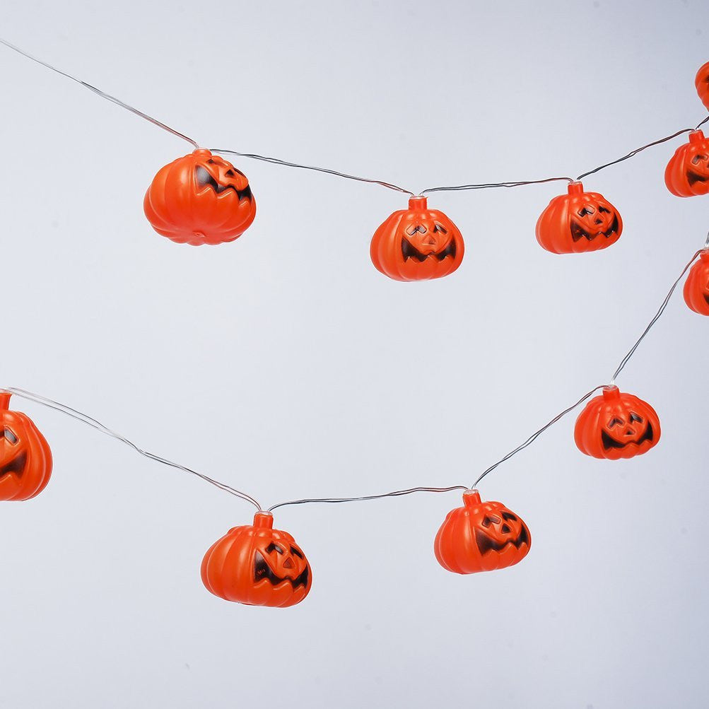 Mini Pumpkin LED String Lights For Halloween Decoration Party - LED Factory Mart - 6