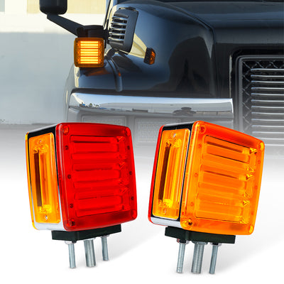 Pillar Series LED Dual Face Truck Fender Pedestal Marker Lights