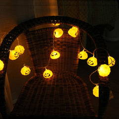 Mini Pumpkin LED String Lights For Halloween Decoration Party - LED Factory Mart - 9