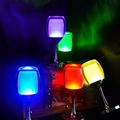 7 Models 3W LED Cup Light Rechargeable RGB Magic Crystal Wine Glass Lamp - LED Factory Mart - 9
