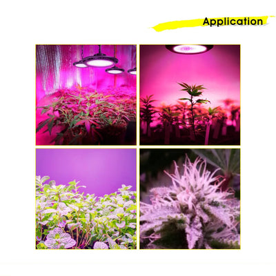 New Design Full Spectrum Aegis 200W LED Plant Grow Light - LED Factory Mart