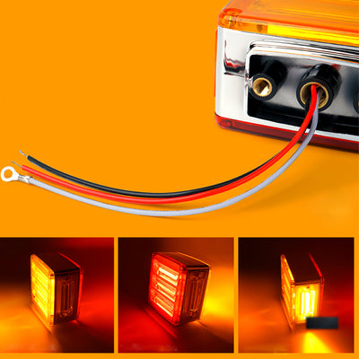 Pillar Series LED Dual Face Truck Fender Pedestal Marker Lights - LED Factory Mart