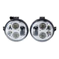 Pair 12-16 Kawasaki Brute Force 750 LED Headlights Conversion Kit - LED Factory Mart - 1