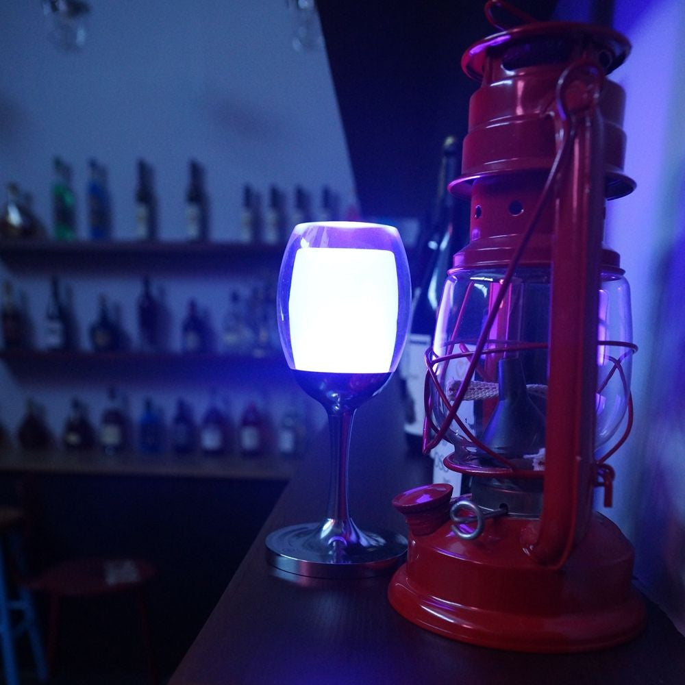 7 Models 3W LED Cup Light Rechargeable RGB Magic Crystal Wine Glass Lamp - LED Factory Mart - 6