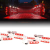 8pc Red Truck Bed LED Lighting Kit