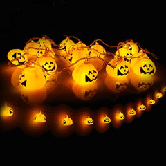Mini Pumpkin LED String Lights For Halloween Decoration Party - LED Factory Mart - 8