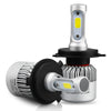 H4 H7 H11 H1 9005 9006 72W COB LED Headlight Bulb Conversion Kit 8000lm